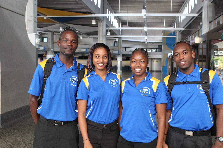 Barbados Badminton Team 2014