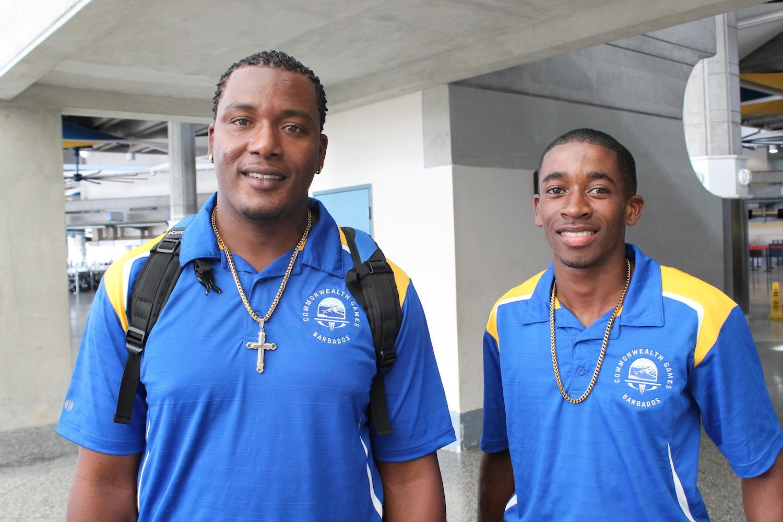Barbados Boxing Team 2014