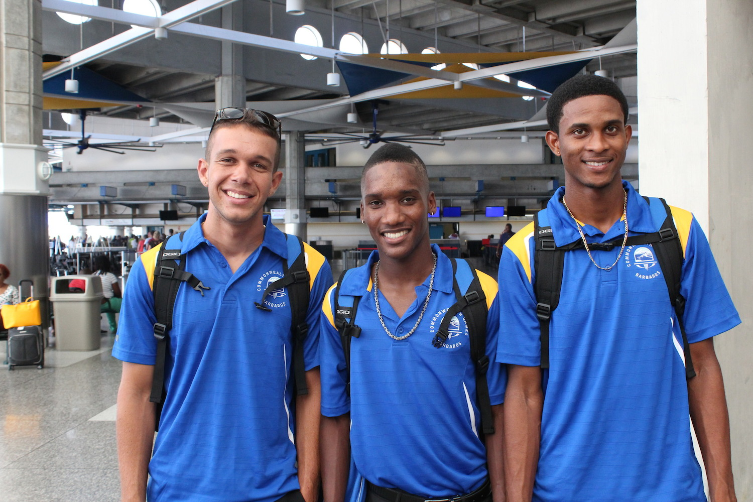 Barbados Cycling Team 2014