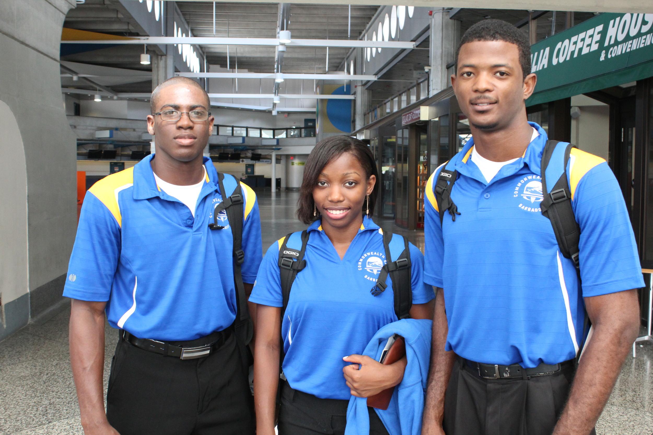 Barbados Judo Team 2014