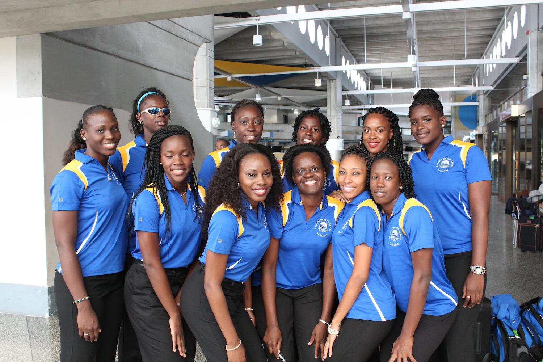 Barbados Netball Team 2014