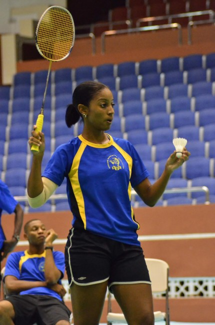 Shari Watson, Badminton Team Captain